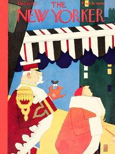 The New Yorker Cover - December 10, 1927 by Gardner Rea