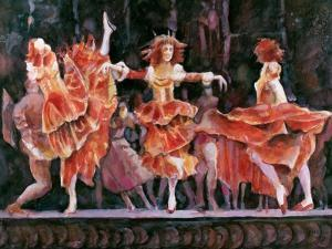 Scene from Romeo and Juliet, Royal Ballet, Covent Garden by Gareth Lloyd Ball