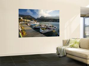 Boats Moored in Plakias Harbour by Gareth McCormack