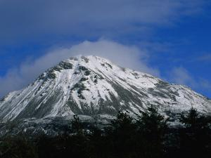 Errigal Mountain in County Donegal in Winter, Ireland by Gareth McCormack