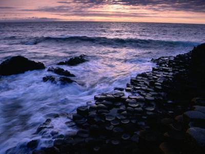 Giants Causeway Ancient Rock Formation, Antrim, Northern Ireland