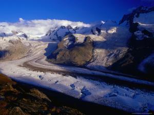 Gorner Glacier and Monte Rosa Massif, Valais, Switzerland by Gareth McCormack