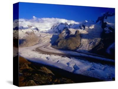 Gorner Glacier and Monte Rosa Massif, Valais, Switzerland