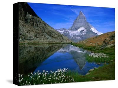 Matterhorn and the Riffelsee, Valais, Switzerland
