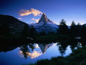 Reflection of the Matterhorn in Waters of Grindjisee, Switzerland by Gareth McCormack