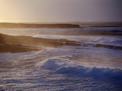 Stormy Evening Weather at Mullaghmore Head, Mullaghmore, County Sligo, Ireland
