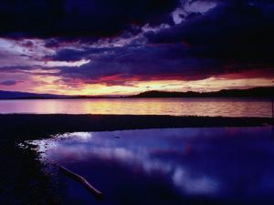 Sunset Over Flathead Lake, Montana, USA by Gareth McCormack