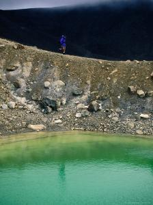 Volcanic Crater at Emerald Lakes, Tongariro National Park, Waikato, New Zealand by Gareth McCormack