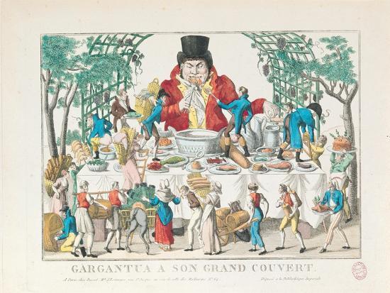 Gargantua at His Table--Giclee Print