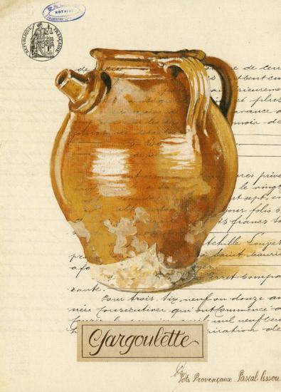 Gargoulette-Pascal Cessou-Art Print