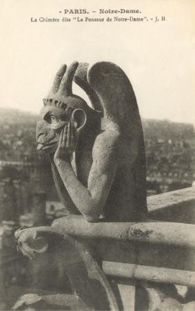 Gargoyle on Notre Dame, Paris