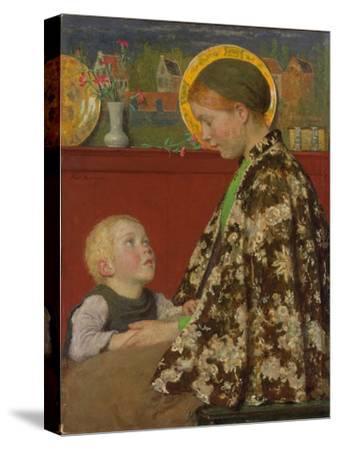 Junge Mutter. Um 1892-95