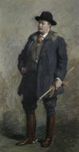 Theodore Roosevelt 26th President of the United States by Gari Melchers