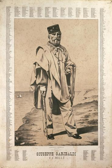 Garibaldi and the Names of the Thousanded in Italy--Giclee Print
