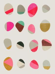 Painted Pebbles 2 by Garima Dhawan