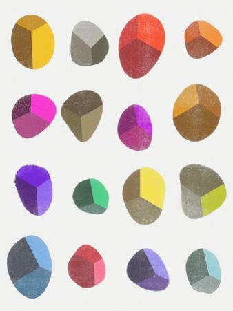 Painted Pebbles 3 by Garima Dhawan