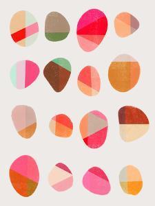 Painted Pebbles 5 by Garima Dhawan