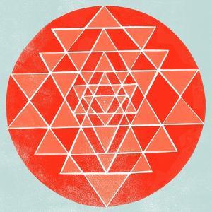 Sri Chakra by Garima Dhawan