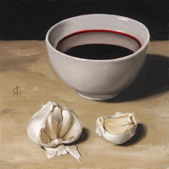 Garlic and Wine-James Gillick-Giclee Print