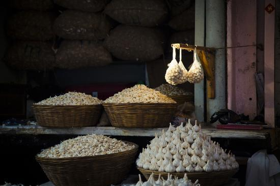 Garlic Market 2-Valda Bailey-Photographic Print