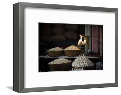 Garlic Market 2-Valda Bailey-Framed Photographic Print
