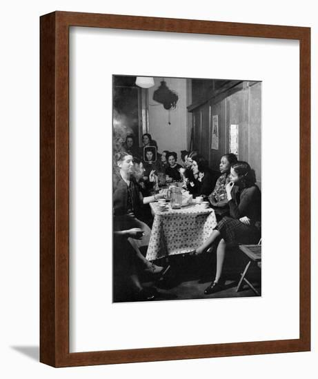 Garment Worker Yetta (Circled), Union Ilgwu, New York, NY, 1938-Hansel Mieth-Framed Photographic Print