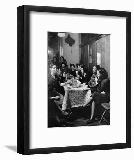Garment Worker Yetta (Circled), Union Ilgwu, New York, NY, 1938-Hansel Mieth-Framed Photographic Print