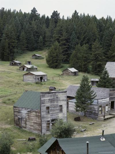 Garnet Ghost Town, Montana, USA--Photographic Print