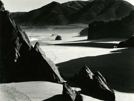 Garrapata Beach, California, 1954-Brett Weston-Photographic Print