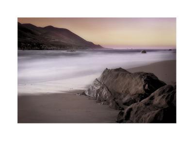 Garrapata Beach-John Rehner-Giclee Print