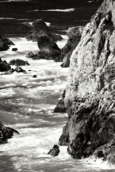 Garrapata Highlands 7 BW-Alan Hausenflock-Photographic Print