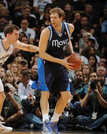 2014 NBA Playoffs Game 2: Apr 23, Dallas Mavericks vs San Antonio Spurs - Dirk Nowitzki