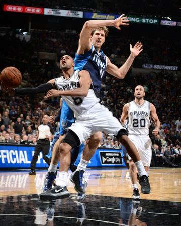 2014 NBA Playoffs Game 2: Apr 23, Dallas Mavericks vs San Antonio Spurs - Patty Mills