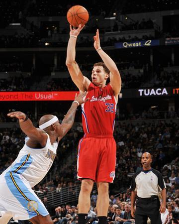 Los Angeles Clippers v Denver Nuggets: Blake Griffin and Al Harrington