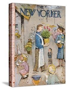 The New Yorker Cover - April 5, 1958 by Garrett Price