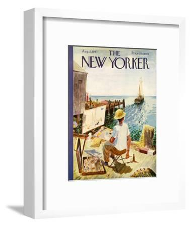 The New Yorker Cover - August 2, 1947