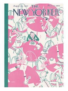 The New Yorker Cover - August 29, 1925 by Garrett Price