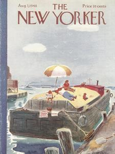 The New Yorker Cover - August 7, 1948 by Garrett Price