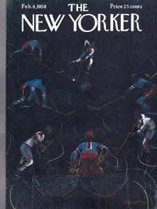 The New Yorker Cover - February 8, 1958 by Garrett Price