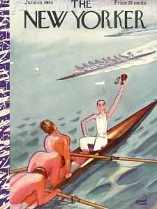 The New Yorker Cover - June 15, 1935 by Garrett Price