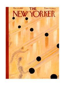 The New Yorker Cover - March 24, 1962 by Garrett Price