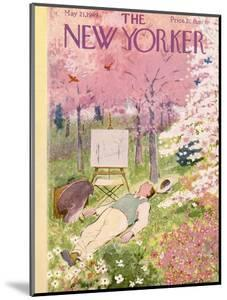 The New Yorker Cover - May 21, 1949 by Garrett Price