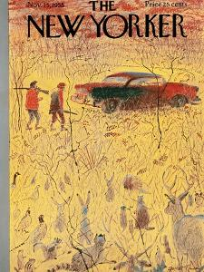 The New Yorker Cover - November 15, 1958 by Garrett Price