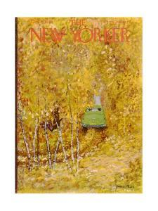 The New Yorker Cover - October 15, 1949 by Garrett Price