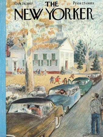 The New Yorker Cover - October 26, 1957