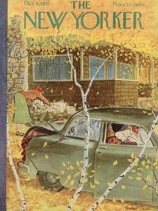 The New Yorker Cover - October 6, 1951 by Garrett Price