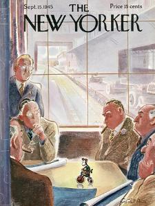 The New Yorker Cover - September 15, 1945 by Garrett Price