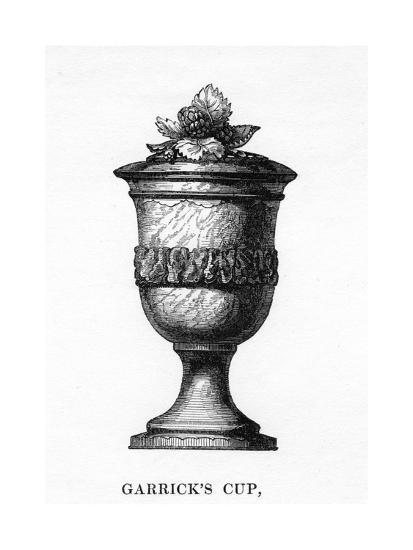 Garrick's Cup, Carved from Shakespeare's Mulberry Tree, 18th Century--Giclee Print