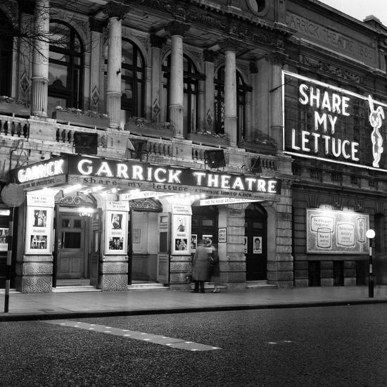 Garrick Theatre 1958-Staff-Photographic Print
