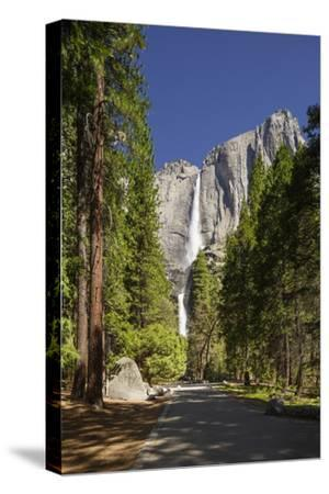 Yosemite Falls in Full Flow During Spring in Yosemite National Park, UNESCO World Heritage Site